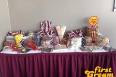 Candy Bar mit Süßigkeiten wie früher beim Kiosk